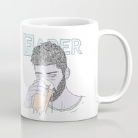 zayn Mugs featuring Zayn by Megandoods