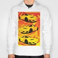 porsche Hoodies featuring Porsche  by deadfish