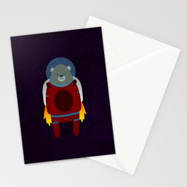 Major Ursa from Ursa Minor: Bear in Space Stationery Cards
