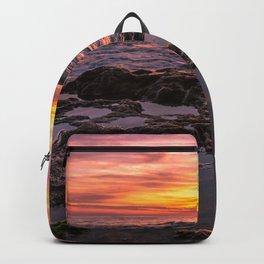 Pure Happiness Pirates Cove Malibu Sunset II Backpack