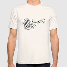 music is the language of our soul. Mens Fitted Tee Natural X-LARGE