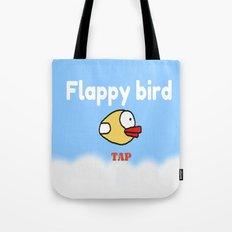 Flappy Bird Tote Bag