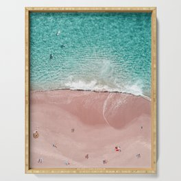 Pink Vacation Serving Tray