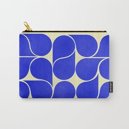 Blue mid-century shapes no8 Carry-All Pouch