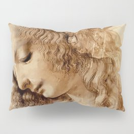"Leonardo da Vinci ""Woman's head"" 3. Pillow Sham"