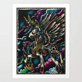 My Little pony ZOMBIE Friendship is Magic Art Print