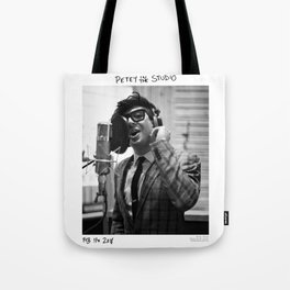 Birds in the Boneyard, Print Three: Petey in the Studio Tote Bag