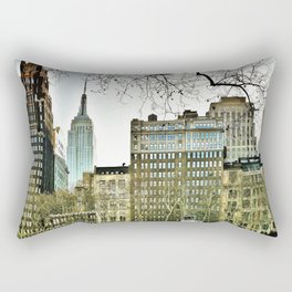 The view from Bryant Park Rectangular Pillow