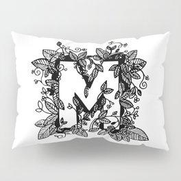 Leafy M Pillow Sham