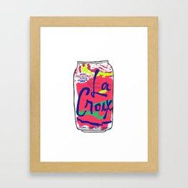 passionfruit La Croix or death Framed Art Print
