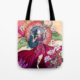 Goddess of the Equinox Tote Bag