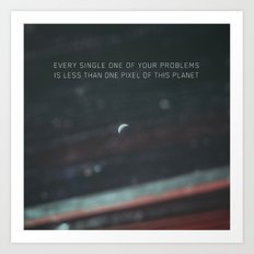 Problem Planet Art Print