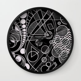 Looking Through (Inverted) Wall Clock