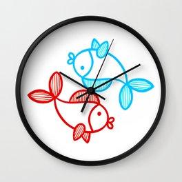 Best Friends Forever - Yin n Yang Wall Clock