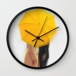 the queen & her idiot Wall Clock