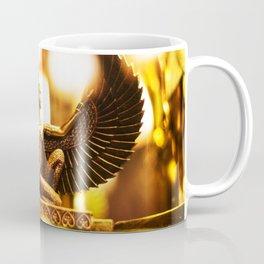 Golden Egyptian Goddess Statue Coffee Mug