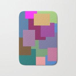 Squares, so many squares Bath Mat
