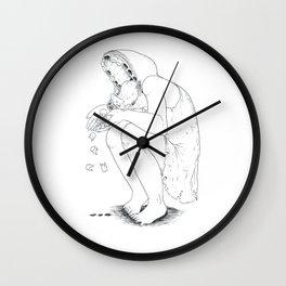 Nightmare tooth loss Wall Clock
