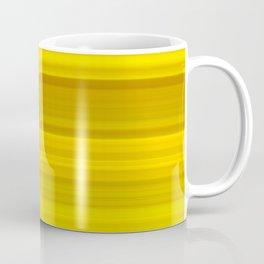 Sunflowers stripes - yellow package Coffee Mug