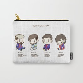 Tiny Messi, pack of 4 Carry-All Pouch