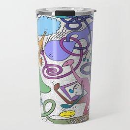 Mr Squiggly Ragamuffin Band Travel Mug