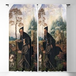 Jan Gossaert - St Anthony with a Donor Blackout Curtain