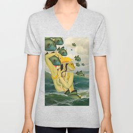 MERMAID Unisex V-Neck