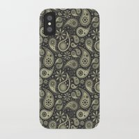 paisley iPhone & iPod Cases featuring Paisley by Sixter
