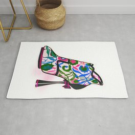 Colourful Bootie Rug