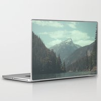 diablo Laptop & iPad Skins featuring The departure - Diablo Lake by jordanwlee.com