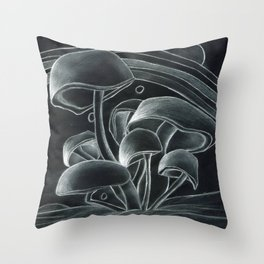 Mush to the Room Throw Pillow