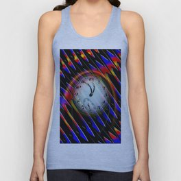 Abstract - Perfection- Time is running Unisex Tank Top