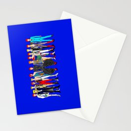 Blue Heroes Group Fashion Outfits Stationery Cards