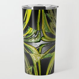 Splash Of Green Bubblegum Abstract IV Travel Mug