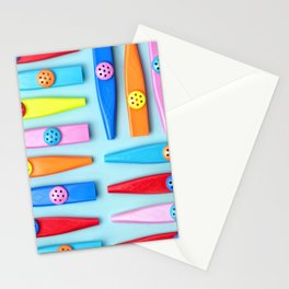 COLORFUL KAZOOS Stationery Cards