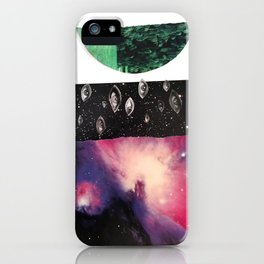 We Are the Universe Looking Back at Itself iPhone Case