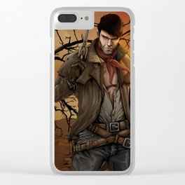 The dark tower Clear iPhone Case