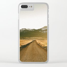 On the Road V / Iceland Clear iPhone Case
