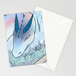 Crystal Cave Dragon Stationery Cards