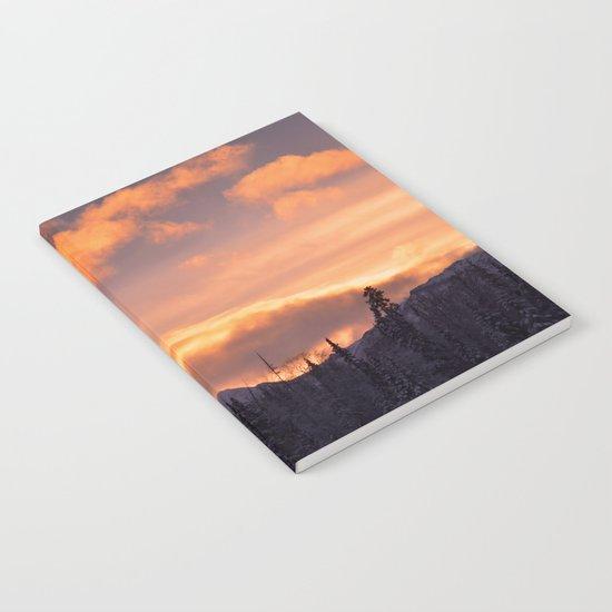 Flat Top Sunrise Notebook