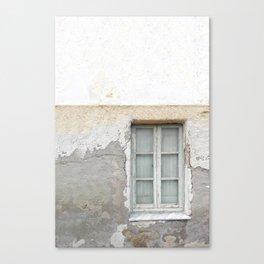 Grunge Window Canvas Print