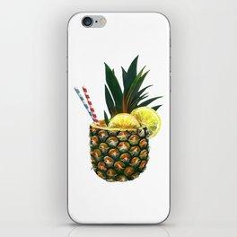 Pineapple Drink iPhone Skin