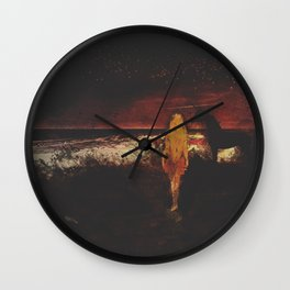 Unicorn Point Wall Clock