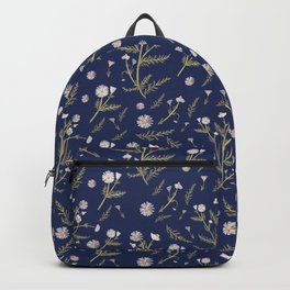 Chamomile Herb - Blue Backpack