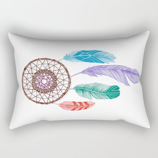 Dream Catcher Multi Rectangular Pillow