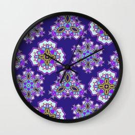 Mandala pattern Wall Clock
