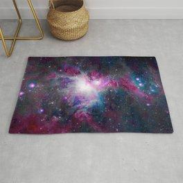 Jewel Tone Orion Nebula Rug