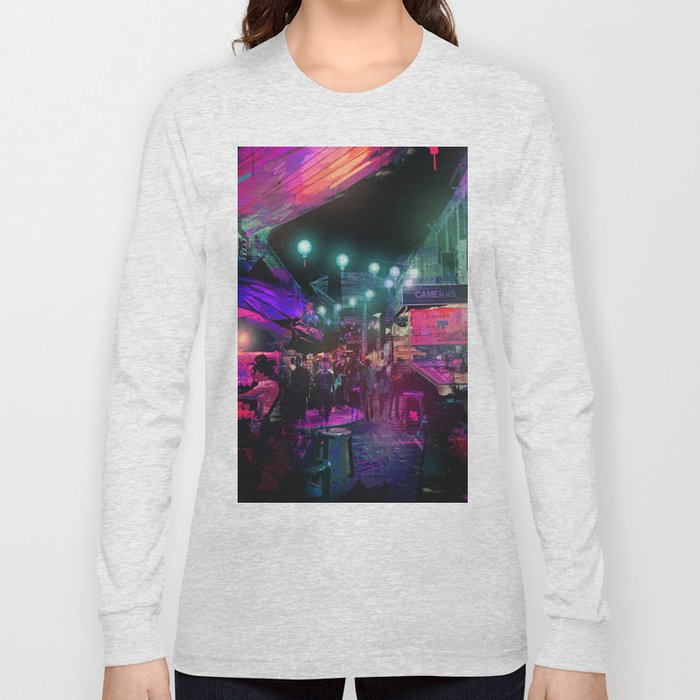 Tunes of the Night Long Sleeve T-shirt