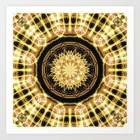 GlaMANDALA | Mandala Glamour Art Print