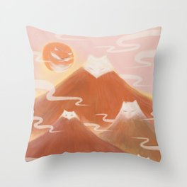 Journey with FOX 3 Throw Pillow